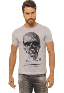 Camiseta Joss Caveira Premium Cinza