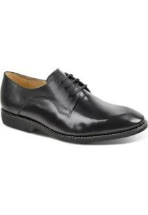 Sapato Social Masculino Derby Polo State - Masculino-Preto+Vinho