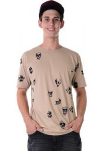 Camiseta Full Print - Skulls