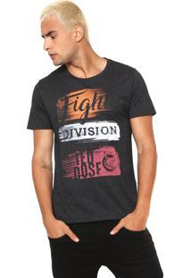 Camiseta Red Nose Division Grafite