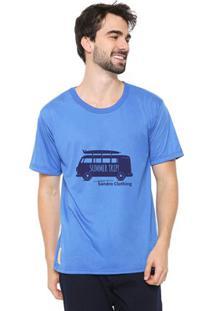 Camiseta Masculina Sandro Clothing Kombi Azul