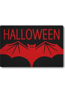 Tapete Capacho Halloween - Preto