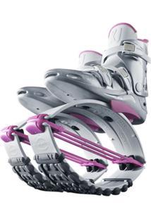 Bota Kangoo Jumps Kj-Xr3 Le Branco/Pink - M