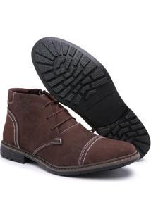 Bota Top Franca Shoes Masculino - Masculino-Café