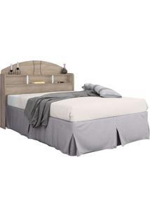 Cabeceira Casal Box Formatta 1,40 Cedro Madeirado-6515 - Robel