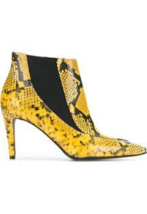 Zadig&Voltaire Bota De Couro - Amarelo