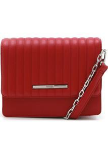 Bolsa Santa Lolla Matelassê Vermelha