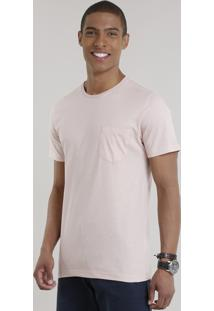 Camiseta Básica Rosê