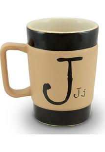 Caneca Coffe To Go- J 300Ml-Mondoceram - Pardo