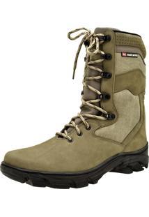Bota Atron Shoes Militar Musgo Verde