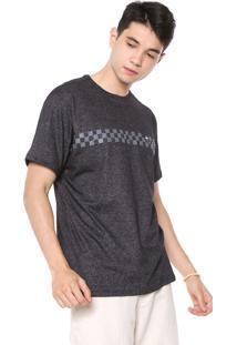 Camiseta Hd Grid Grafite