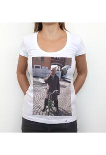 Ciggaro Di Ferrara Doppio - Camiseta Clássica Feminina