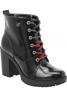 Bota Via Marte Ankle Boot (Com Brinde) Feminina