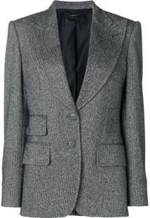 Tom Ford Blazer De Tweed - Preto