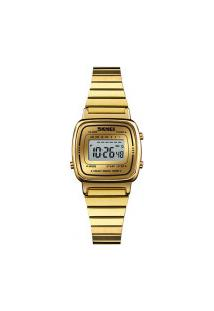 Relógio Skmei Feminino -1252- Dourado