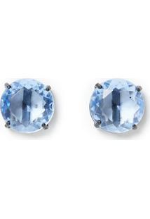 Brinco Cristal Azul - U