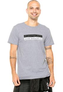 Camiseta Fiveblu Manga Curta Trust No One Cinza