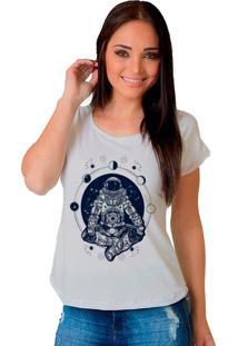 Camiseta Shop225 Space Branco - Branco - Feminino - Dafiti