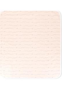 Emporio Armani Kids Cobertor Com Estampa De Logo - Rosa