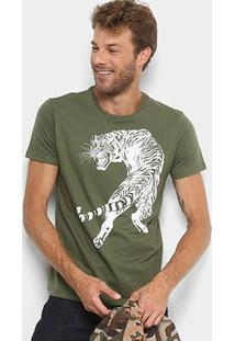 Camiseta Ellus Estampada Masculina - Masculino