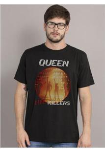 Camiseta Masculina Queen Live Killers - Masculino