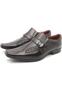 Sapato Social Venetto Prince Vermelho