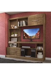 Estante Para Tv E202 Rr Rústico Fosco - Dalla Costa
