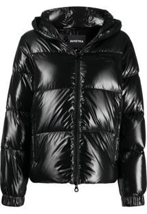 Duvetica Short Puffer Jacket - Preto