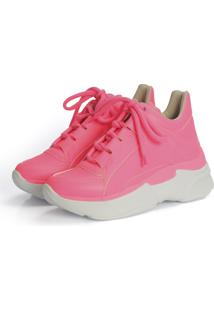 Tênis Not-Me Dad Sneakers Pink Neon Color