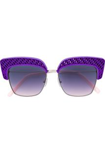 Óculos De Sol De Sol Roxo feminino   Gostei e agora  67edc8d0f4