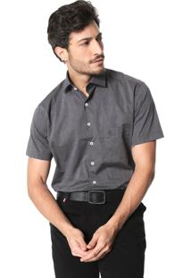 Camisa Dudalina Slim Fit Grafite