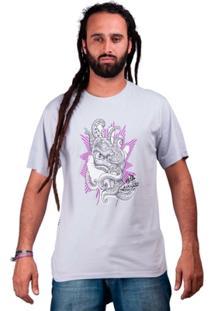 Camiseta De Algodão Polvo Purple Haze - Masculino