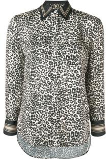 Equipment Blusa Animal Print - Neutro