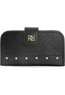 Carteira Rafitthy Be Forever Pin | Cor: Preto