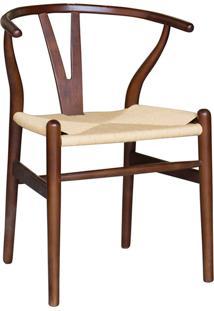 Cadeira Valentina Madeira Escura Rivatti Marrom - Marrom - Dafiti