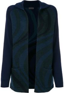 Cashmere In Love Cardigan 'Suzy' - Azul