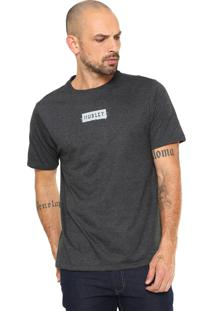 Camiseta Hurley Ripples Cinza