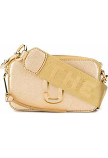 Marc Jacobs Bolsa Transversal The Shot Dtm - Dourado