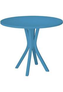 Mesa De Jantar Felice Azul Claro Maxima