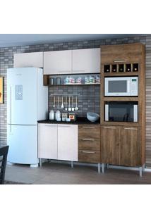 Cozinha Yasmin 0421T 8 Portas C/ Tampo – Genialflex - Demolição / Gelo