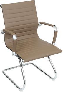 Cadeira Para Escritório Fixa Esteirinha 3301-Or Design - Fendi