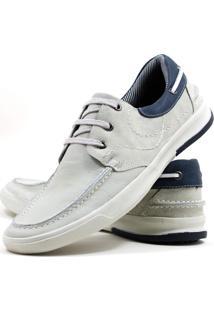 Sapato Casual Docksider Mafisa Branco