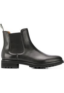 Polo Ralph Lauren Ankle Boot Slip-On Bryson - Preto