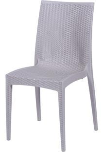 Cadeira Em Polipropileno Tramas Fendi