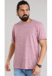 Camiseta Básica Botonê Rosa