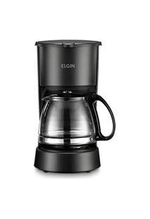 Cafeteira Elétrica Elgin Preta Para Café Em Pó - 42Caf100