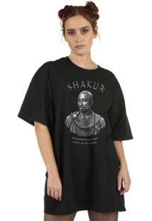 Camiseta Eternal King Feminina - Feminino-Preto