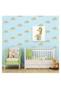 Adesivo Decorativo De Parede - Kit Com 35 Nuvens - 003Kad05
