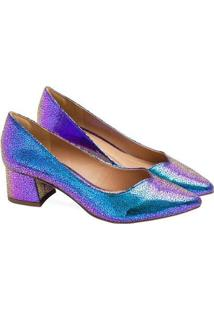 Sapatos Saltare Carmen Feminino - Feminino-Roxo