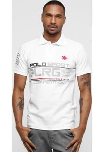 Camisa Polo Rg 518 Estampada Piquet - Masculino